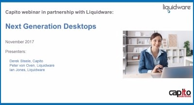 Next Generation Desktops webinar
