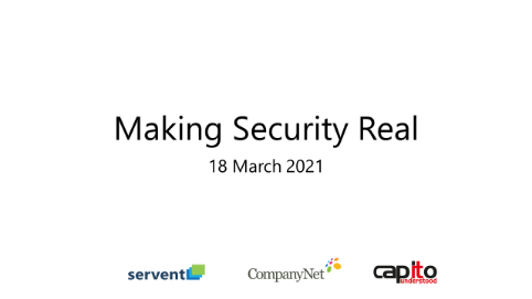 Making Security Real Webinar- Capito