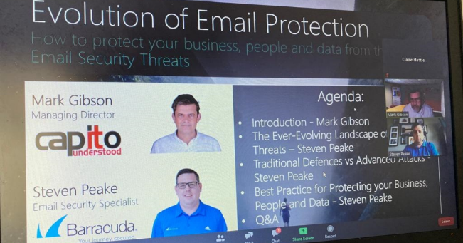 Evolution of Email Protection Webinar- Capito