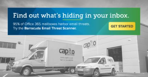 Sign up for Barracuda's free email scan
