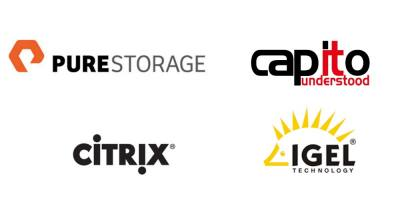 Meet our partners Pure Storage, Citrix & IGEL