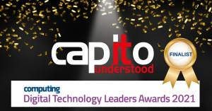 Capito Finalists in Computing's Digital Technology Leaders Awards 2021