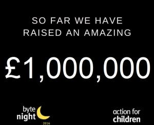 Byte Night raises £1m