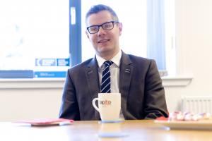 Derek Mackay MSP visits Capito