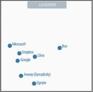 OneDrive recognised as Leader