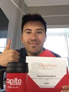 Congratulations Diego Carrea