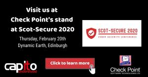 Capito at DIGIT Scot-Secure 2020 Cyber Security Conference