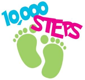 We're walking 1m steps for charity