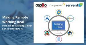 Making Remote Working Real webinar