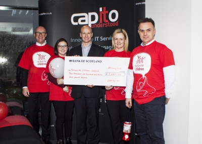 Capito raises £2647 for Action for Children Scotland