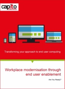 Capito_Workplace modernisation through end user enablement