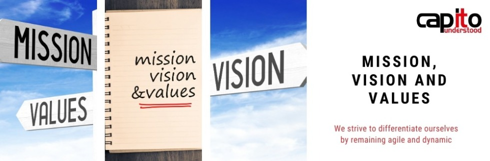 Mission, Vision and Values at Capito