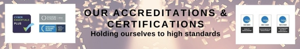 Our Certifications and Accreditations