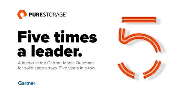 Pure Storage, leader