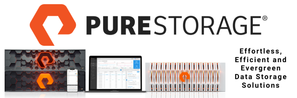 Pure Storage - Effortless, Efficient and Evergreen Data Storage Solutions