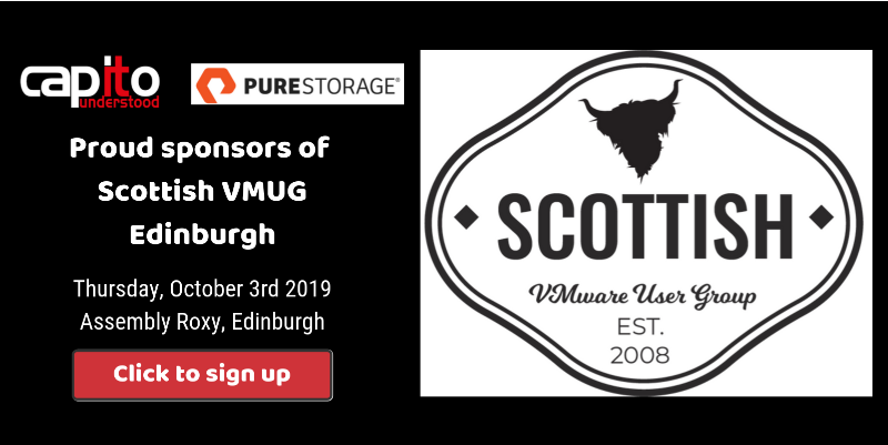 Scottish VMUG in Edinburgh - October 3rd 2019, Capito Sponsors